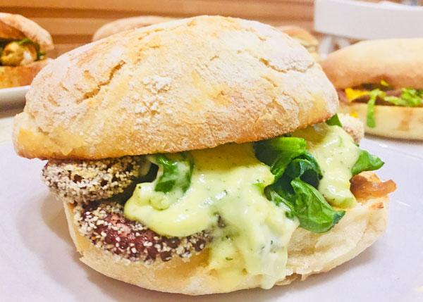 Calafighera Pisca Fish Burger