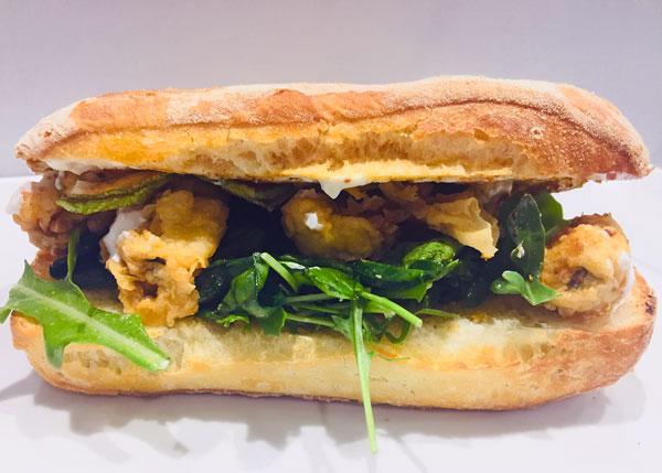 Punta Molentis Pisca Fish Burger