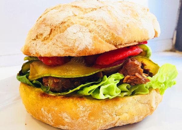 Su Giudeu Pisca Fish Burger