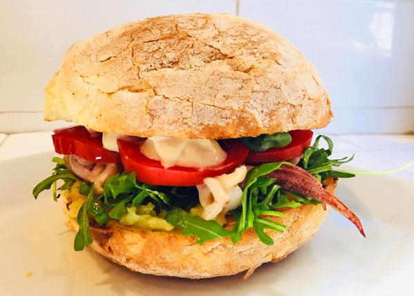 Tuerredda Pisca Fish Burger