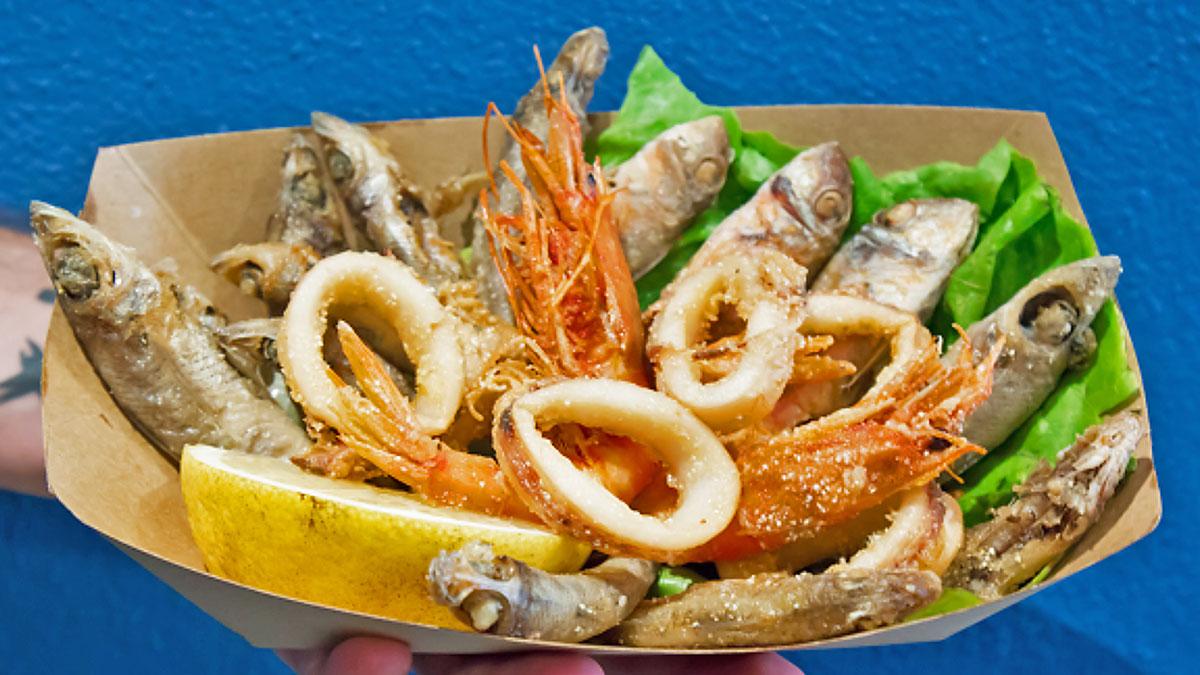 Fritto Pisca Fish Burger