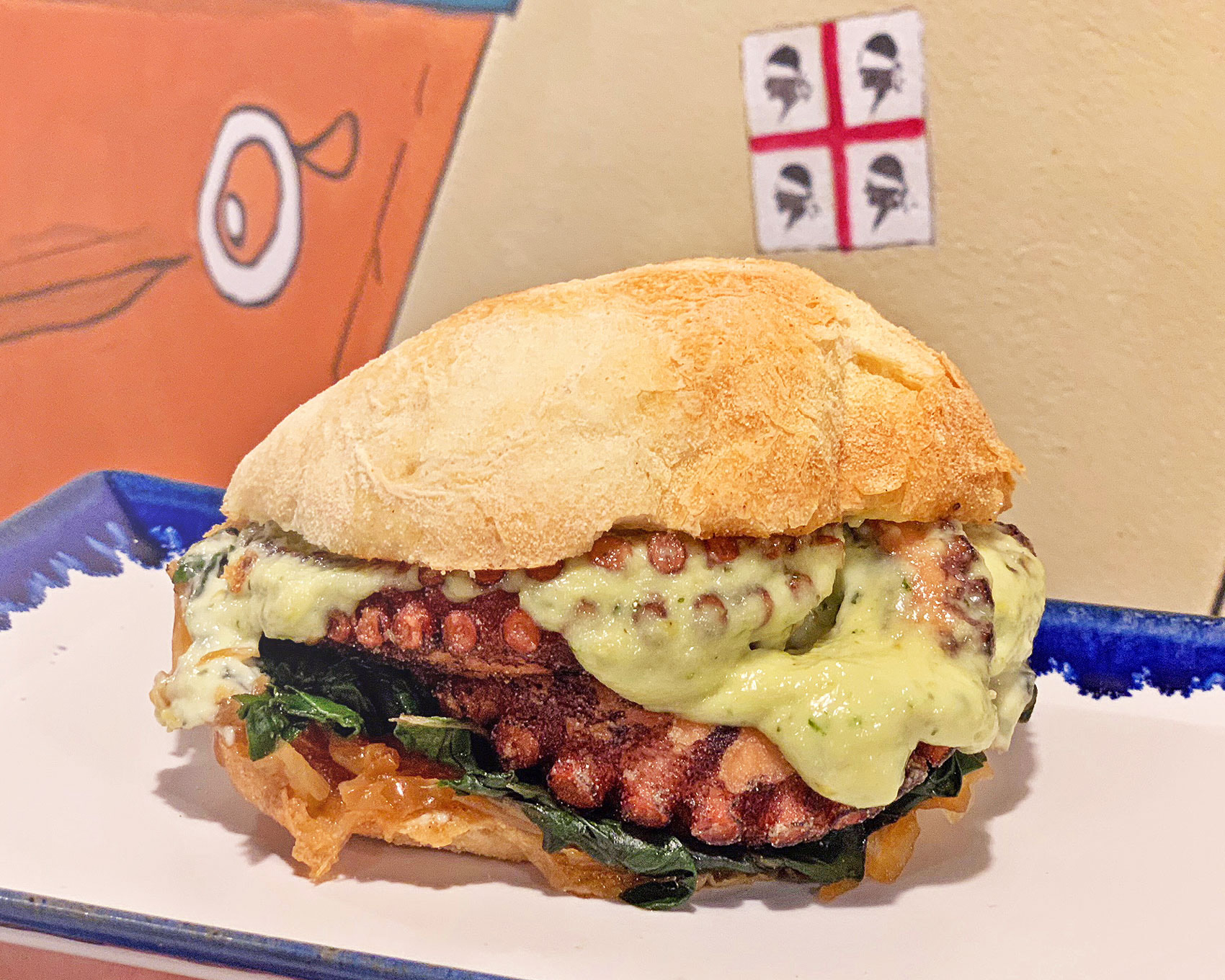 Panino Polipo Pisca Fish Burger